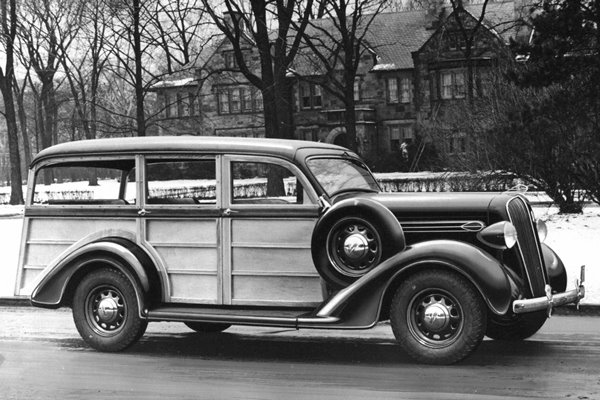 1936 Plymouth Westchester Suburban