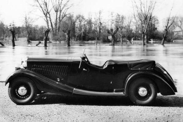 1936 Railton Tourer