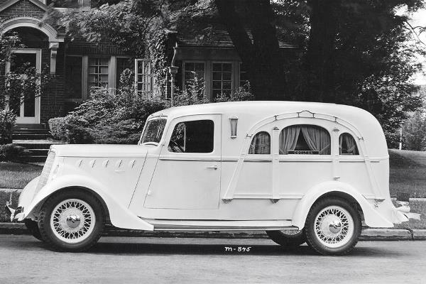 1936 Willys 77 Hearse