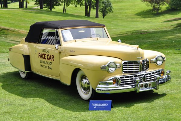 1946 Lincoln Continental Cabriolet Indy 500 pace car Auctions America
