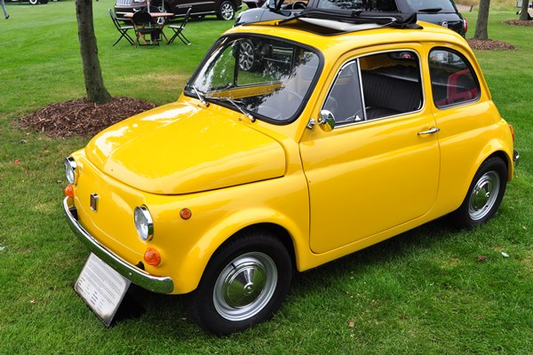 1970 Fiat 500L Chrysler Historical Collection
