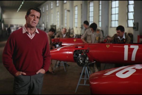 at the Ferrari works in Grand Prix