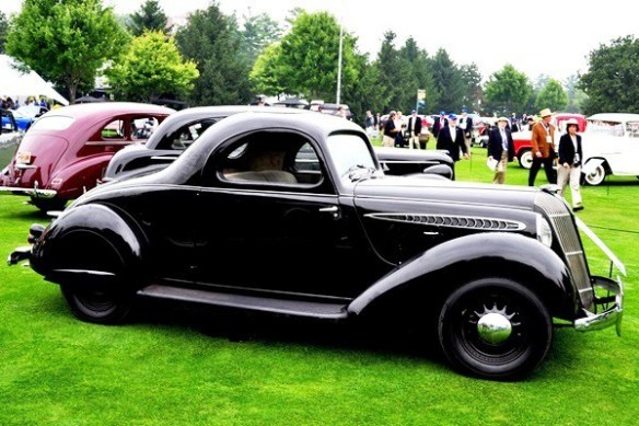 1937 Hupmobile Aerodynamic Coupe