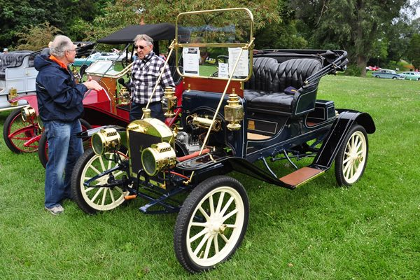 1911 Maxwell AB Runabout Vern Campbell