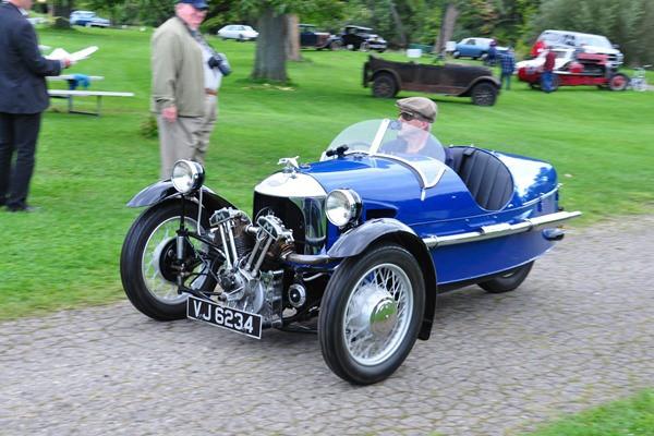 1934 Morgan Super Sport Glenn and Jeanine Miller