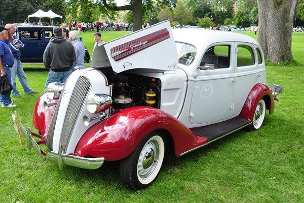 1936 Graham 110 Sedan Roger Pierce