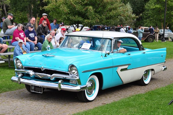 1956 Plymouth Belvedere Sport Sedan Fred and Carol Hoffman