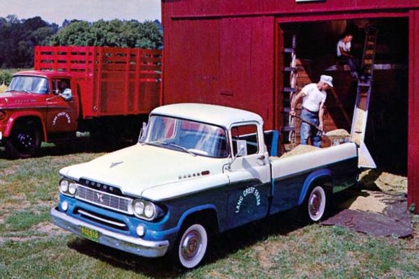 1960 Dodge Sweptline Pickup