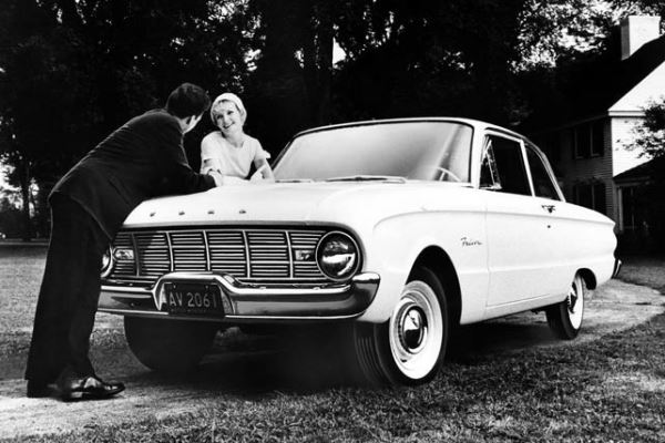 1960 Ford Falcon two-door sedan