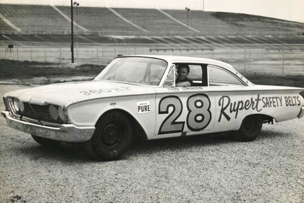 1960 Ford Starliner Fred Lorenzen