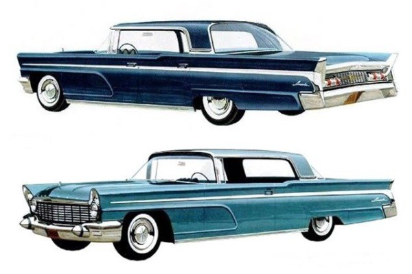 1960 Lincoln Landau and Coupe