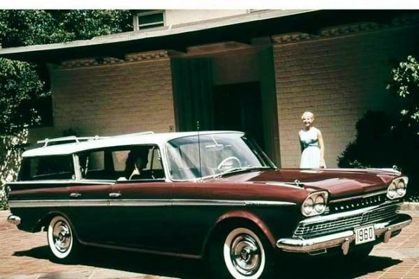 1960 Rambler Ambassador Hardtop Station Wagon