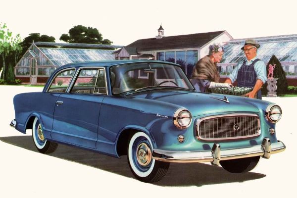 1960 Rambler American two-door sedan