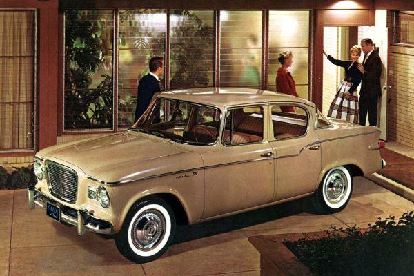 1960 Stuebaker Lark 4D sedan