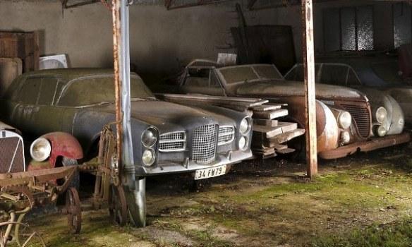 Facel Vega and Talbot-Lago