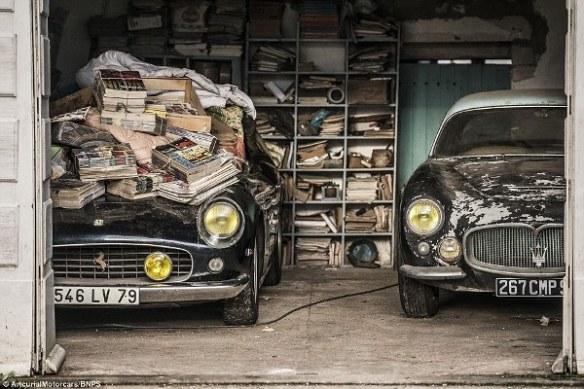 Ferrari and Maserati