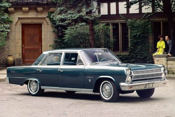 1965 AMC Ambassador 990 Sedan