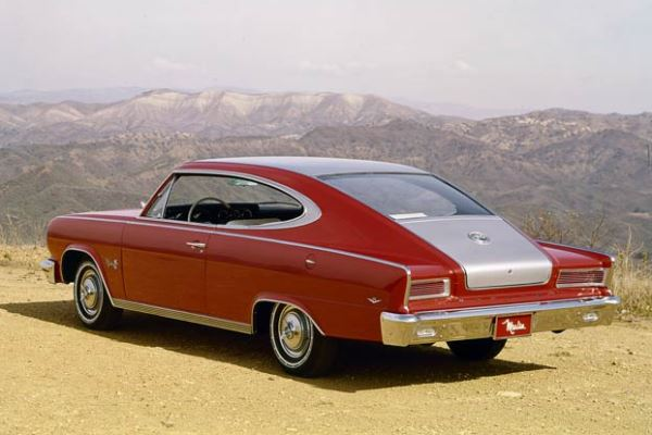 1965 AMC Marlin red silver