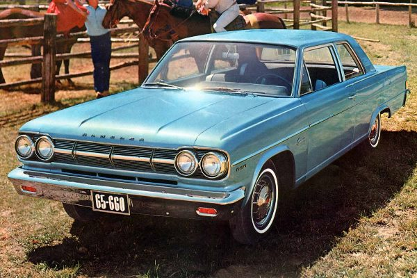 1965 AMC Rambler Classic 660 two-door sedan