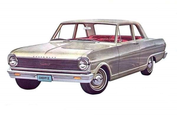 1965 Chevrolet 100 two-door sedan