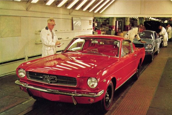 1965 Ford Mustang Dearborn Assembly Plant
