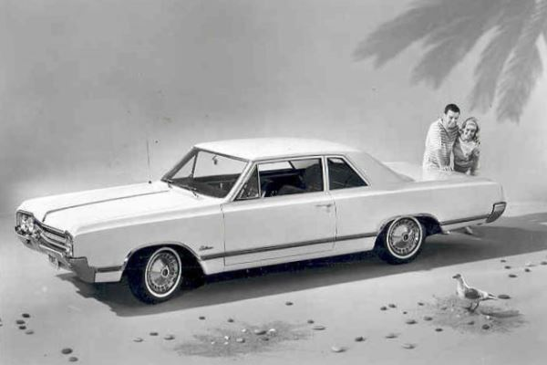 1965 Oldsmobile Cutlass F-85 two-door sedan