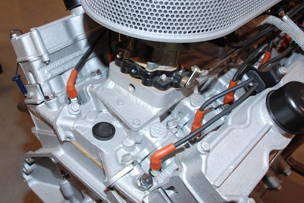 Cadillac V12 rear top view