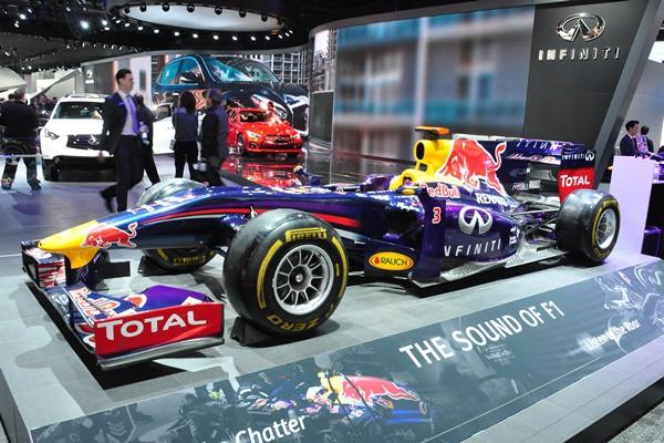Renault F1 show car