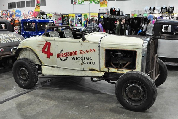 1931 Ford circle track roadster Tyler Hardee