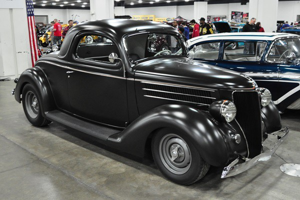 1936 Ford 3W Coupe George Poteet