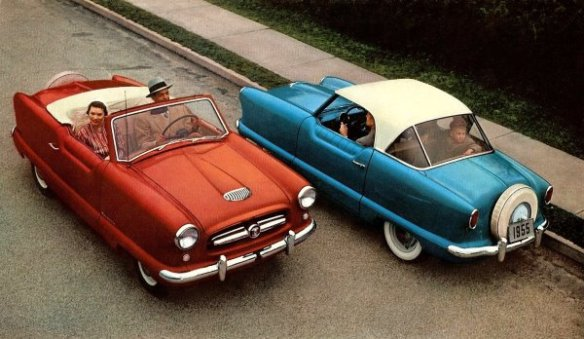 1955 Metropolitan front and rear views