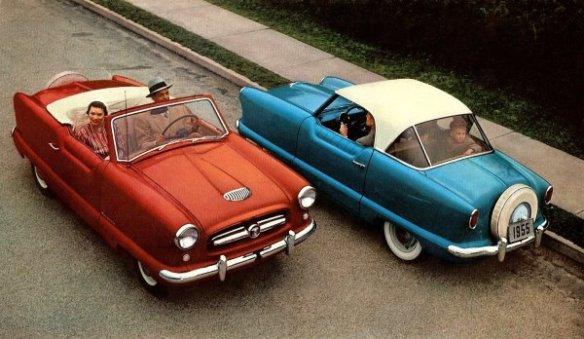 1955 Metropolitan front and rear views