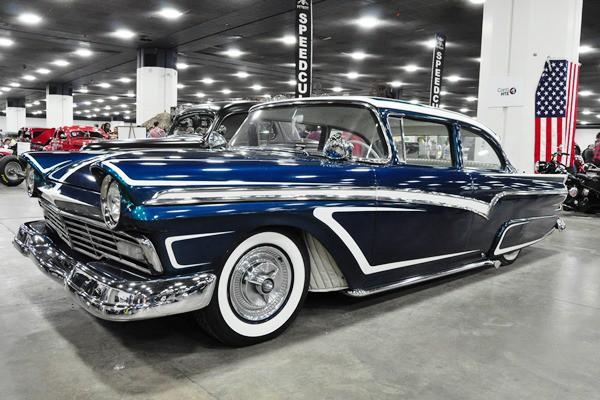 1957 Ford period custom owner NA
