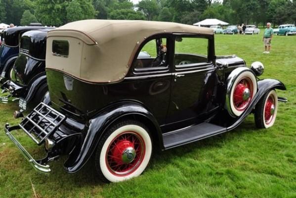 1932 Ford B-400 Convertible Sedan