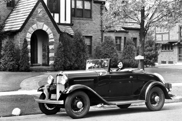 1932 Ford B-68 V8 Cabriolet