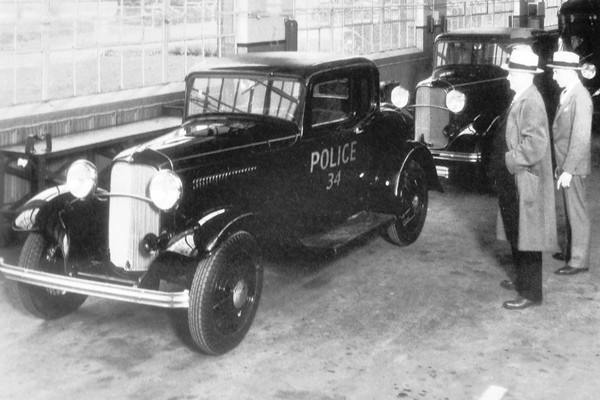 1932 Ford Model B Coupe Police