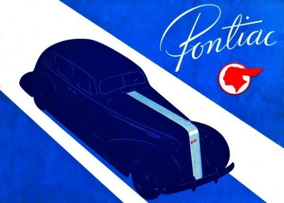 1936 Pontiac Silver Streak blue