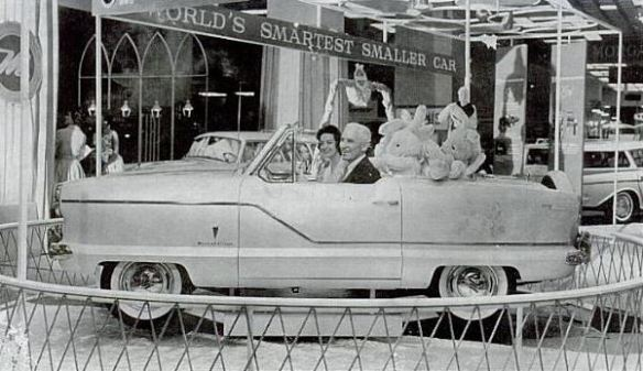 1960 AMC Metropolitan Park Avenue show floor