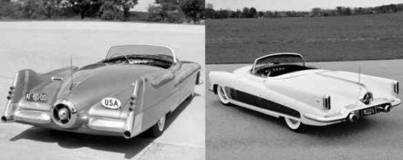 GM LeSabre and Buick XP-300 concepts