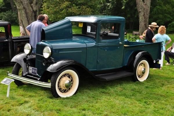 Joseph P. Abella B-82 1932 Ford Closed Cab pickup