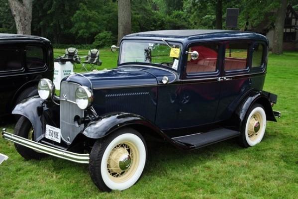 Ken Bruening 1932 Ford B-160 Fordor Sedan