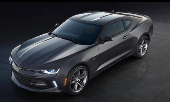 2016 Camaro RS front-quarter view