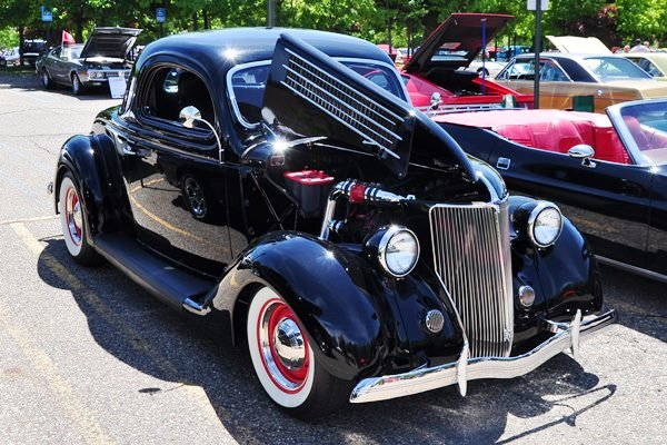 1936 Ford 3W Coupe
