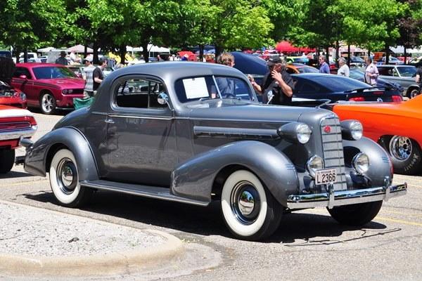 1936 LaSalle Coupe Linda and John Bertolone