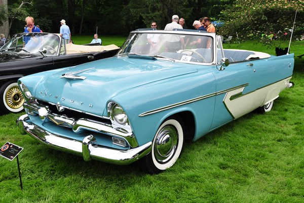 1956 Plymouth Belvedere Convertible Bill & Kay Smith