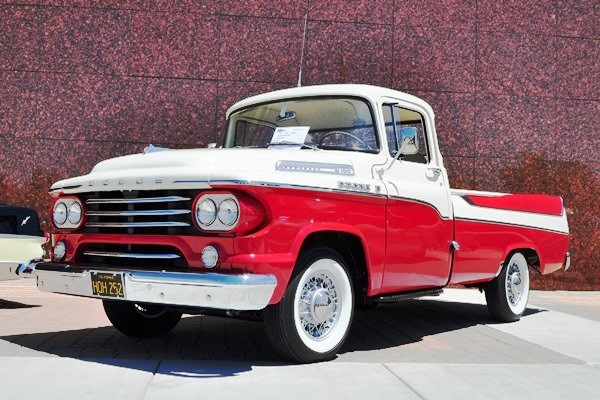 1958 Dodge Sweptside Pickup Burke Brown