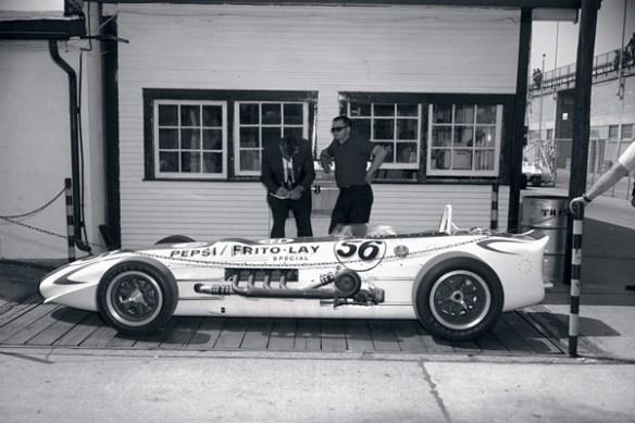 1968 Mallard-Offy on scales