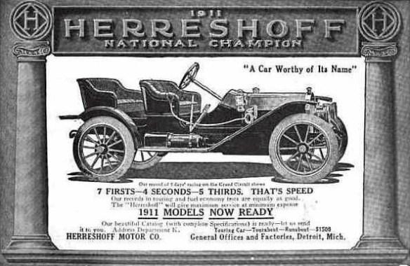 1911 Herreshoff Motor Co.
