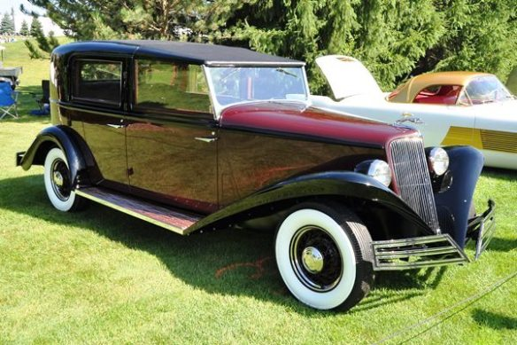 1934 Ford Brewster Town Car Edsel & Eleanor Ford Estate