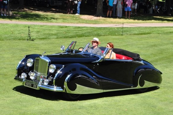 1947 Bentley Mk VI Convertible Franay Ted McIntyre